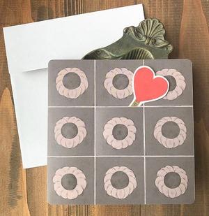 ケーキをカット出来る♡チョコレートケーキのカード