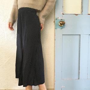 "USED "" dot slit tight skirt / ドットスリットタイトスカート """