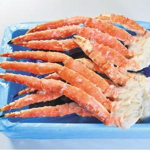 【北海道から期間限定!】ボイル冷凍本タラバガニ足約2.0kg