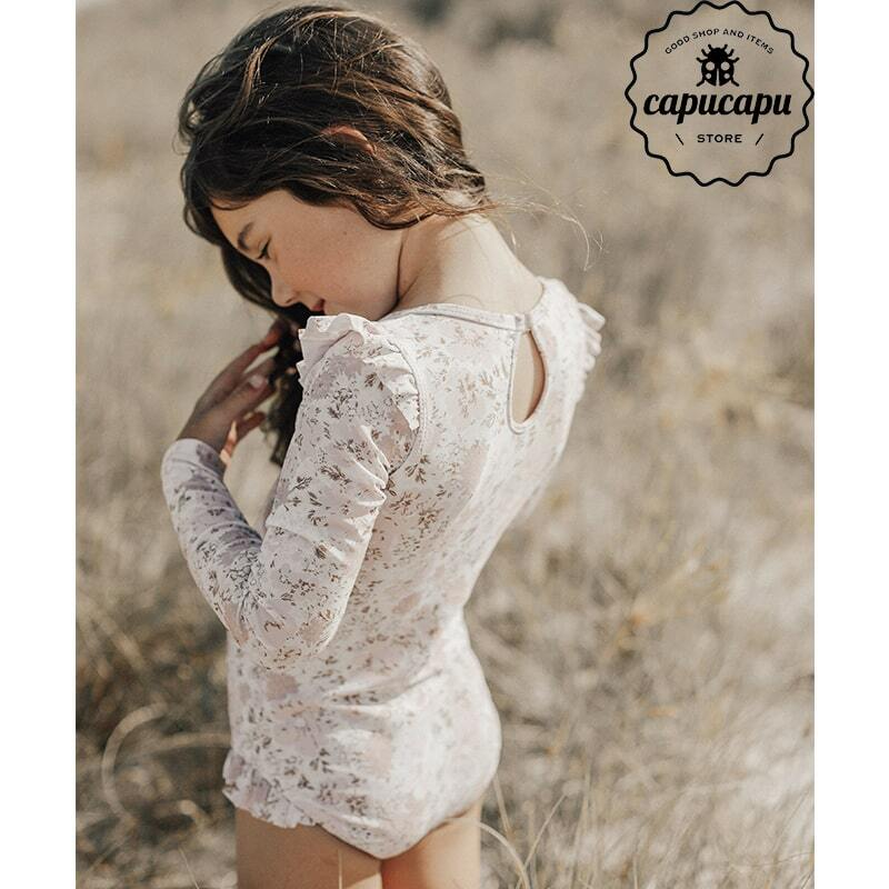 «sold out»«Jamie Kay» swimsuit collection long sleeve floral キッズ水着