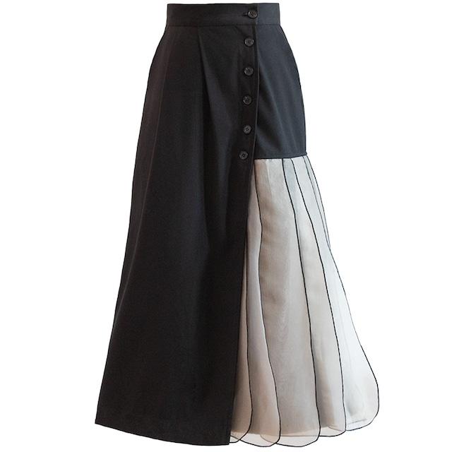 Design pleats skirt KE636