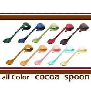 クリップ式ココアスプーン(全10色組)アウトドアキャンプ カップマーカー オフィス アイデア便利グッズ/簡易セット箱入り