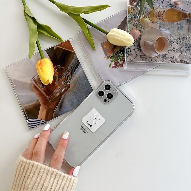 iphone12 ケース 韓国 pc tpu face id シンプル デザイン クリア 透明 カバー iPhone SE2 7 XR 11 11Pro 12mini 12pro max Galaxy ギャラクシー S9 S10 S20 S21