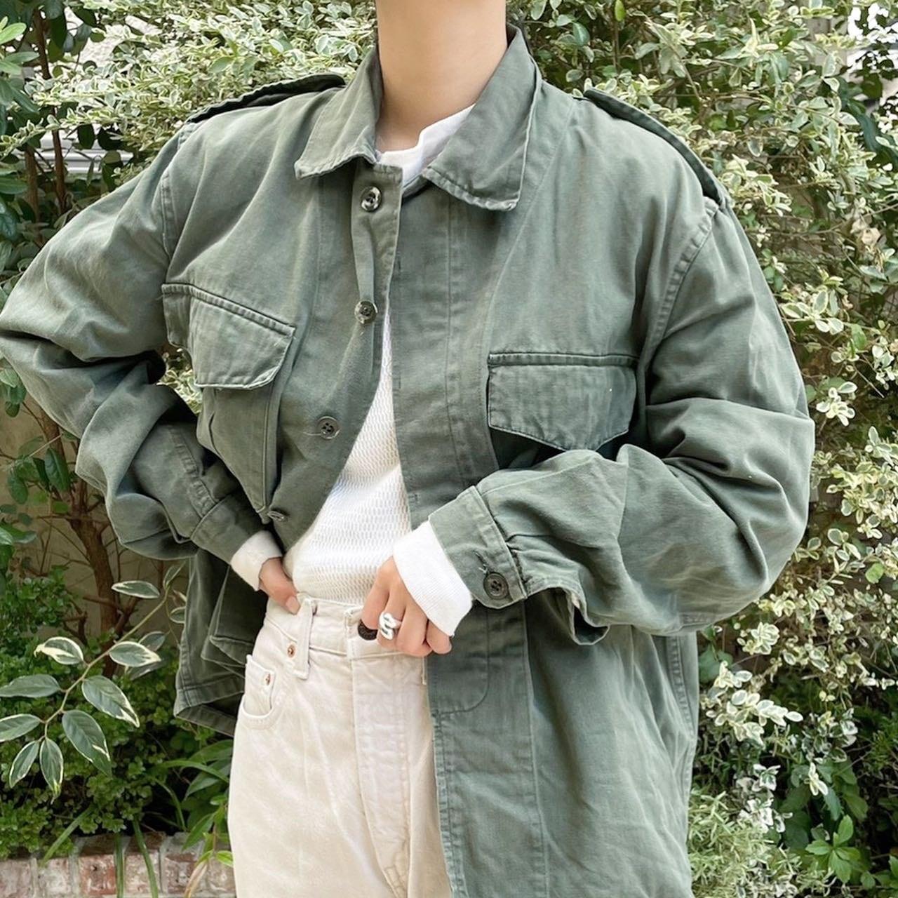 """USED """"  military jacket / ミリタリージャケット"""""""