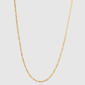 Figaro Chain Necklace【3mm/GOLD】