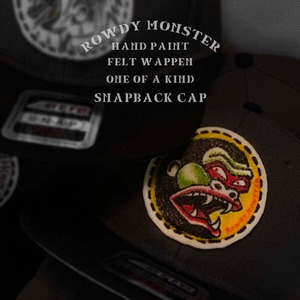 ROWDY MONSTER CAP