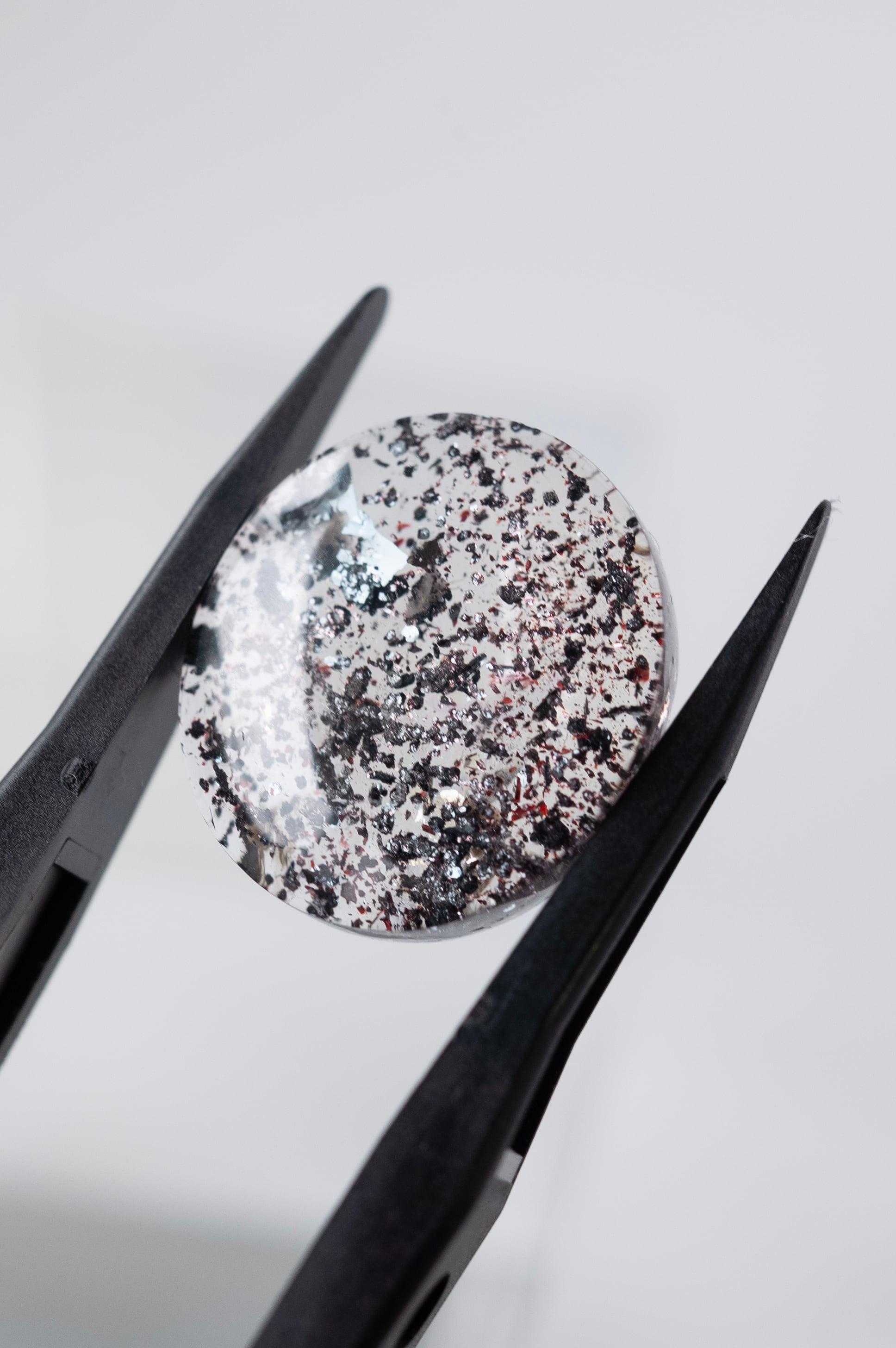 Hematite in Quartz  - 007