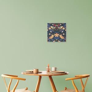素敵なアートパネル いちご泥棒(カラーアレンジ) ウィリアム・モリス 227角