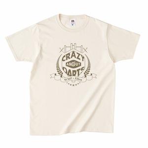 エンブレムC.A.D.Tシャツ(ゴールド)