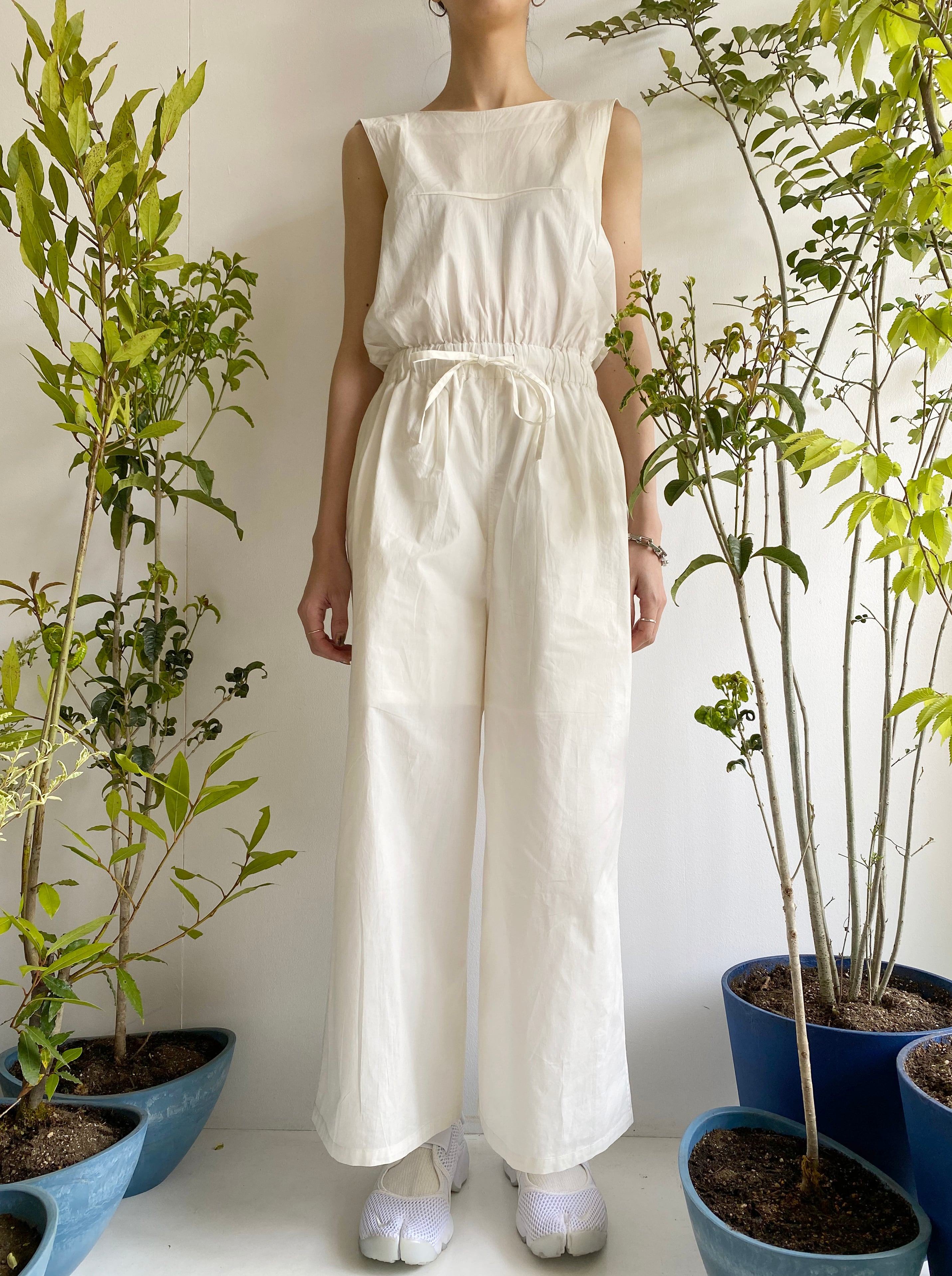 """All in one """"white"""" organic cotton"""