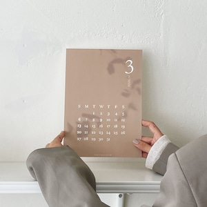 [p.palette] 2022 ポスターカレンダー