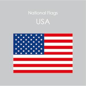 国旗ステッカー USA