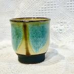 『ノモ陶器製作所』湯呑  緑