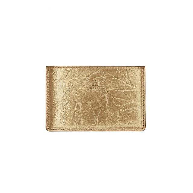 《名刺入れ》TIN BREATH Business card case single  Antique gold