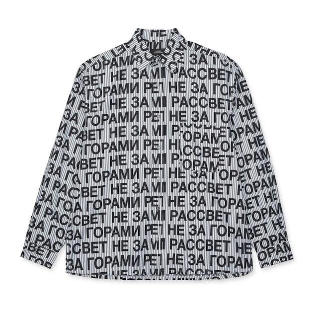 Rassvet Printed Shirt Black
