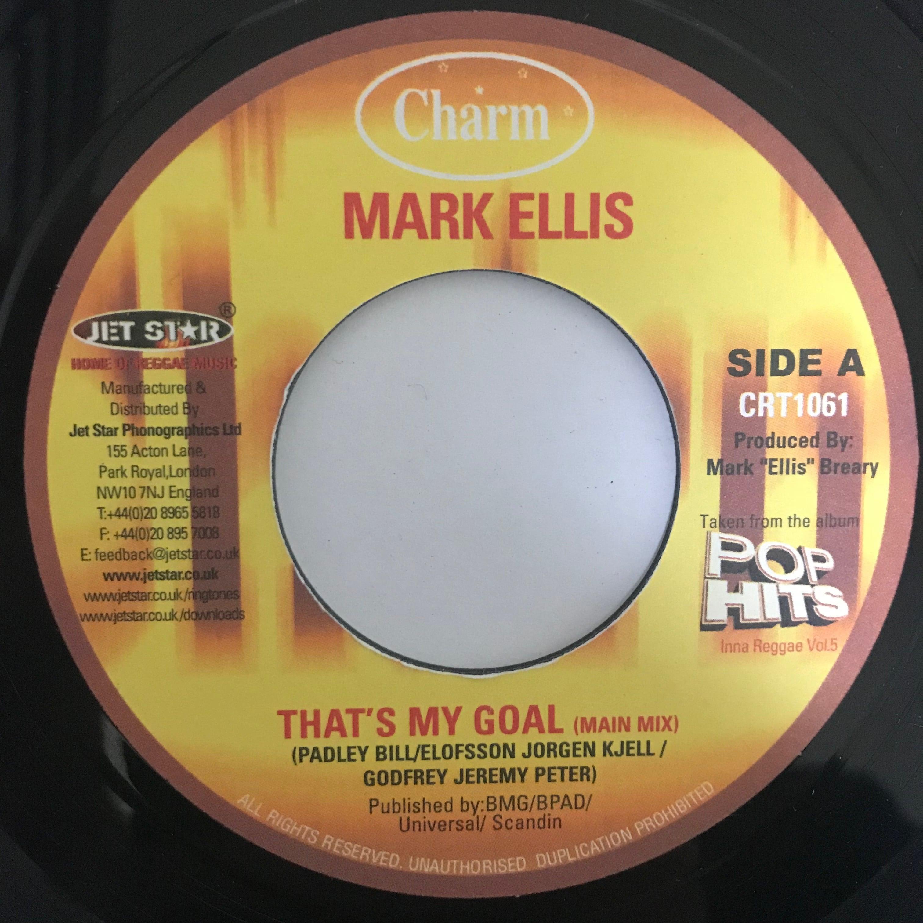 Mark Ellis(マーク エリス) - That's My Goal【7-10773】