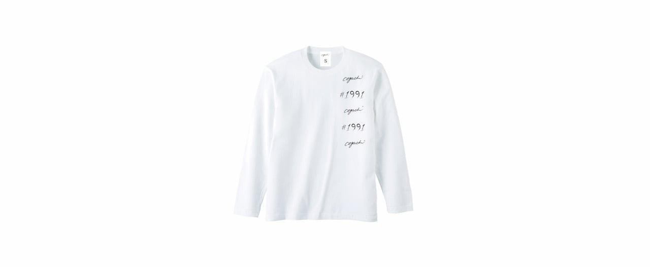 1991 coguchi logo long T-shirts (WH)