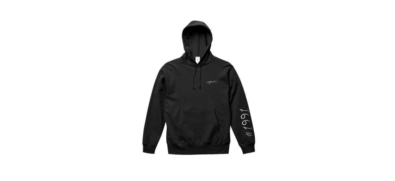 1991 logo hoodie (BLK)