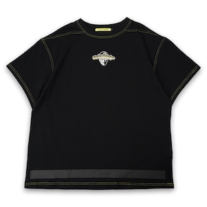 T.C.R EXTREME EMBROIDERY LOGO S/S TEE - BLACK