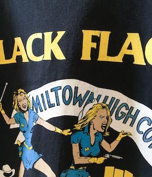 USED BAND T-shirt -BLACK FLAG-