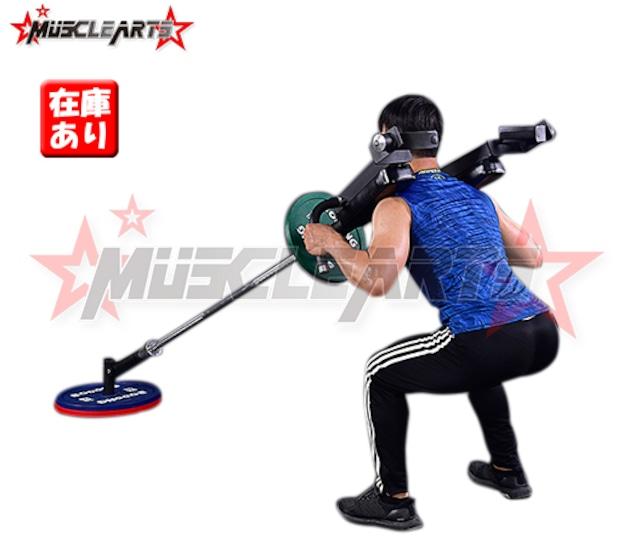 【台数限定】マッスルコアトレーナー 体幹を鍛える オリンピックシャフト用 50mm