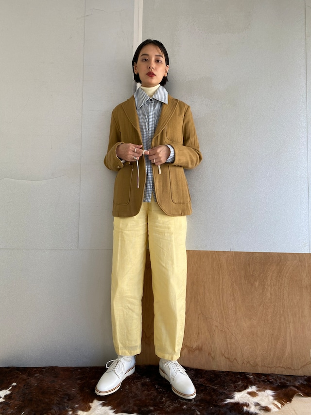 """Safari jacket """"camel"""" khadi wool"""