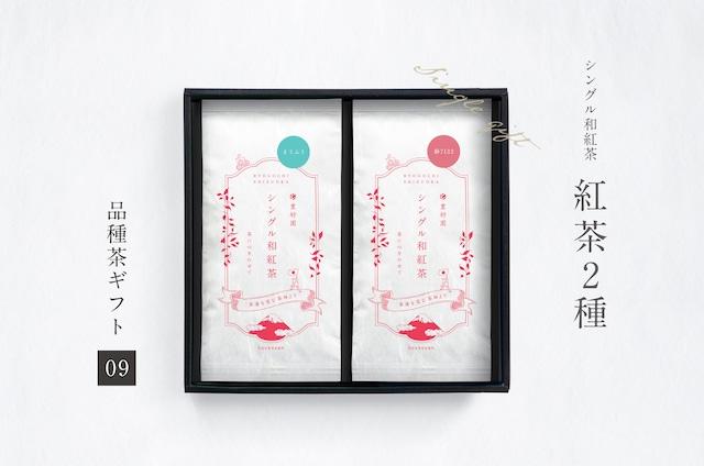 ギフト【09】シングル和紅茶2種