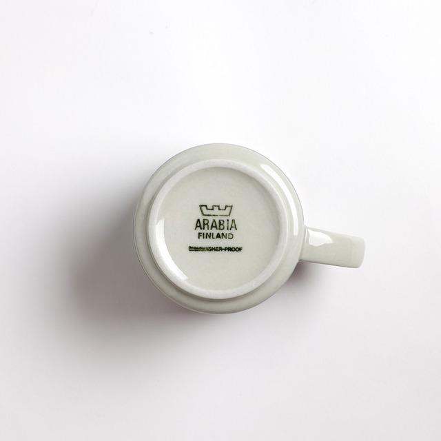 ARABIA アラビア Taika タイカ デミタスコーヒーカップ&ソーサー -b 北欧ヴィンテージ