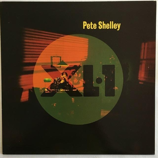 【LP・米盤】Pete Shelley / XL・1