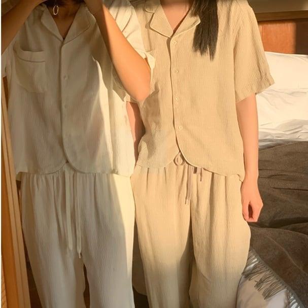 Simple summer pajamas set(シンプルサマーパジャマセット)b-174