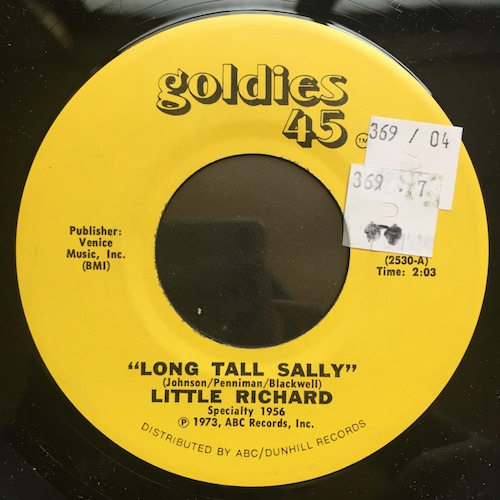 Little Richard – Long Tall Sally /only you