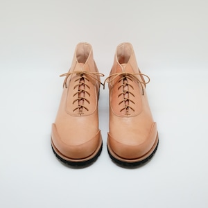 Monte boots tanned Yezo deer oil