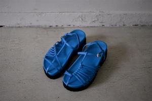 G.V.G.V. / ASYMMETRY THIN STRAP SANDAL (blue.M)
