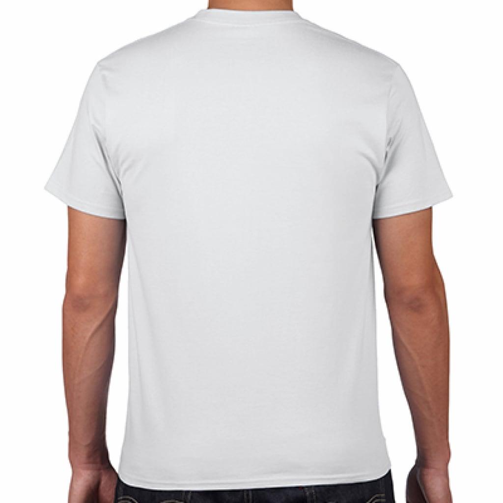 ahahahana_I/WHT/モノトーン【シンプルデザインTシャツ】©mayu_color.888