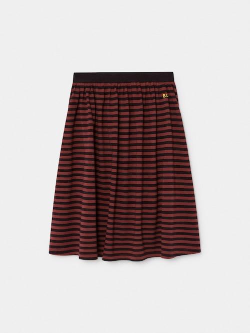 《BOBO CHOSES 2019AW》Striped midi skirt / 2-9Y