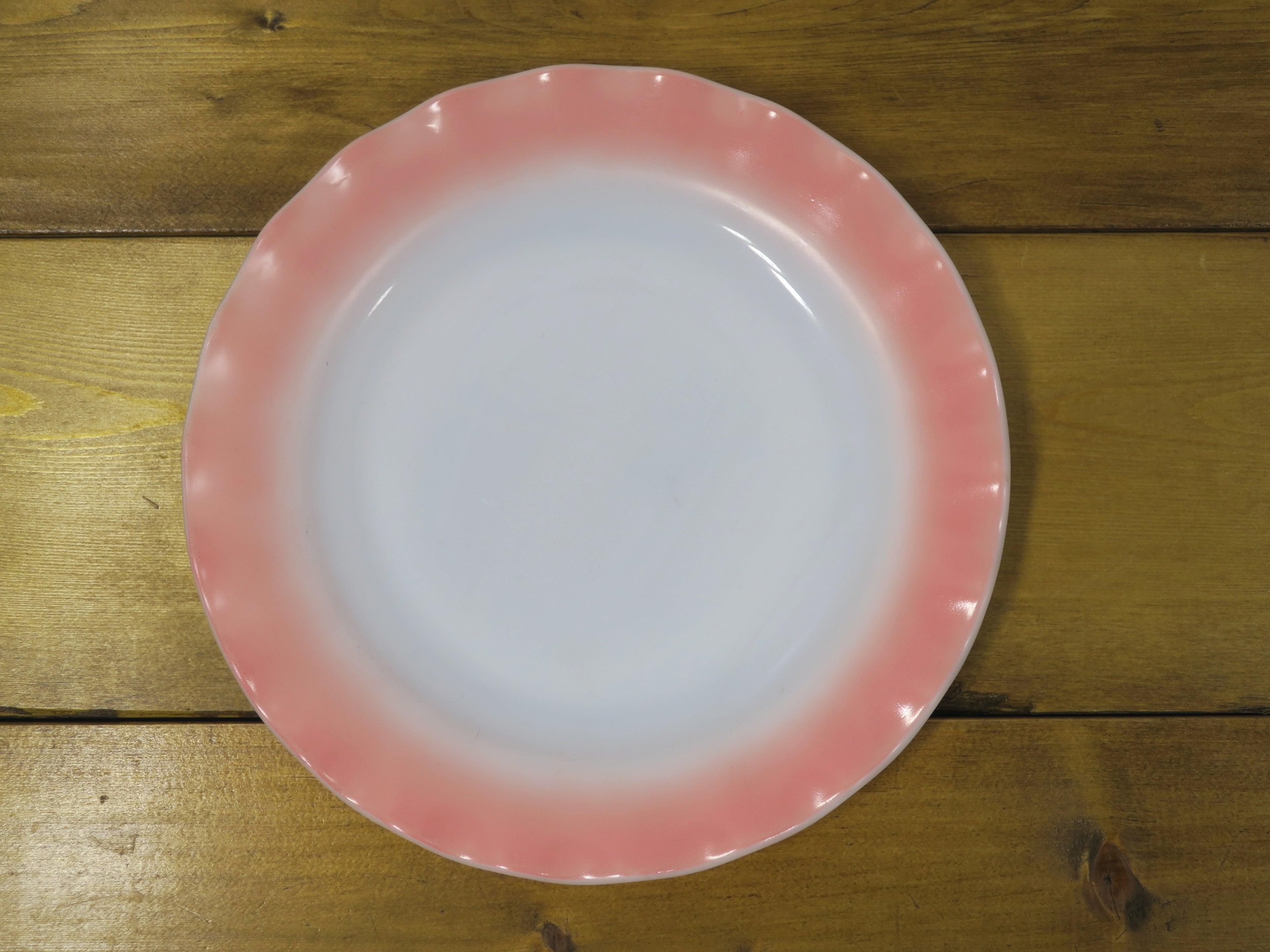Hazel Atlasヘーゼルアトラス Ripple リプル ディナープレート ピンク