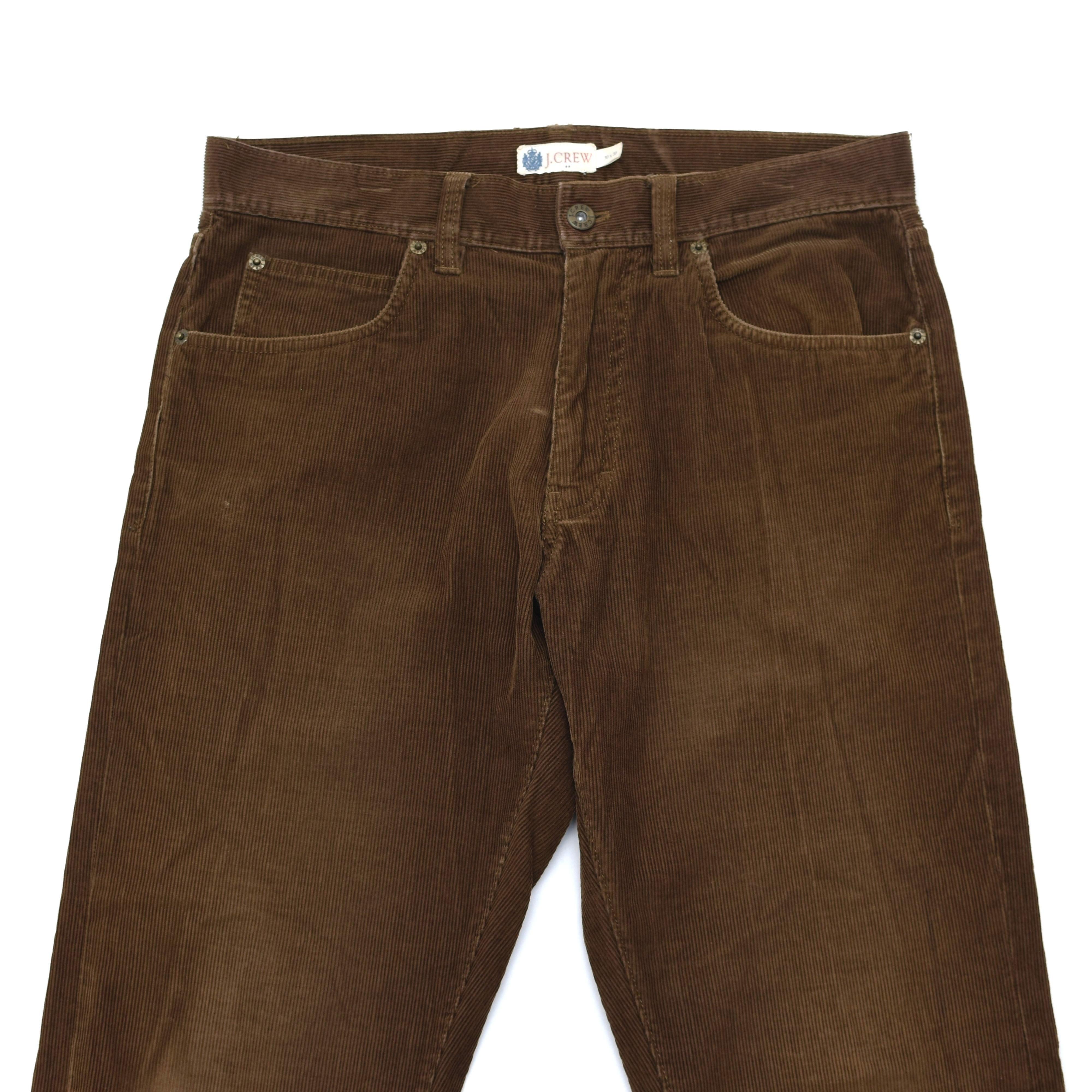 J.CREW brown corduroy pants