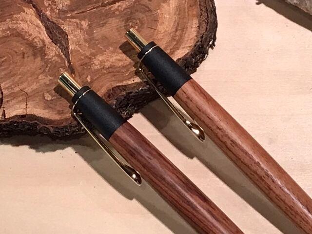 「匠」筆記具シリーズ 木軸シャープペン・ボールペン    ローズ