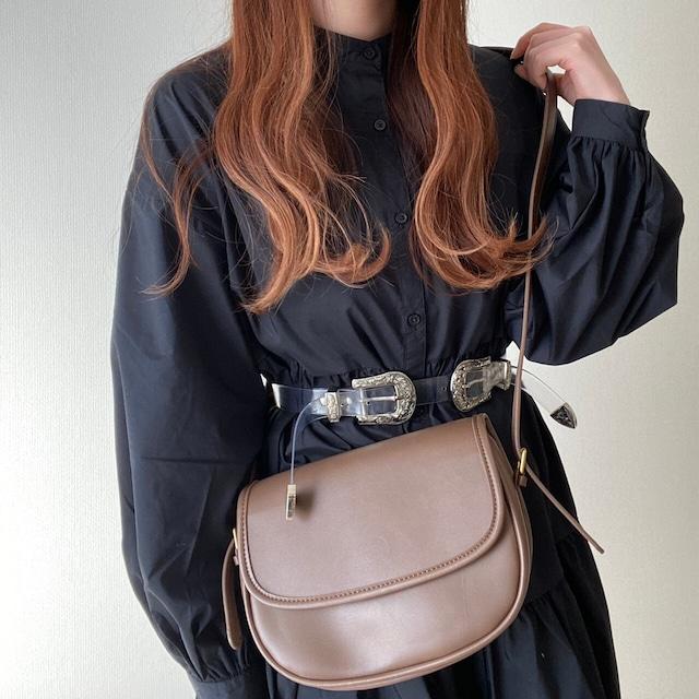 round shoulder bag[2102-8]