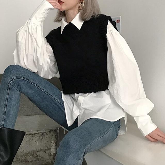 Short vest KRE681