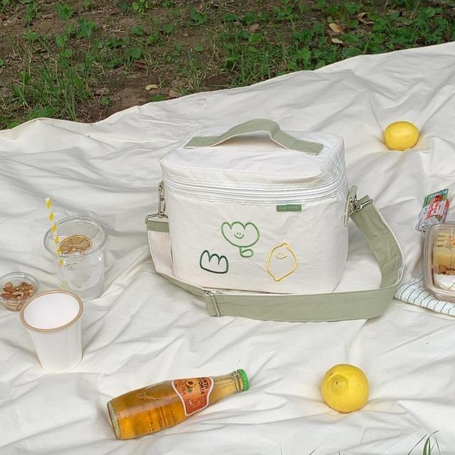[second morning] ピクニック 保冷バッグ