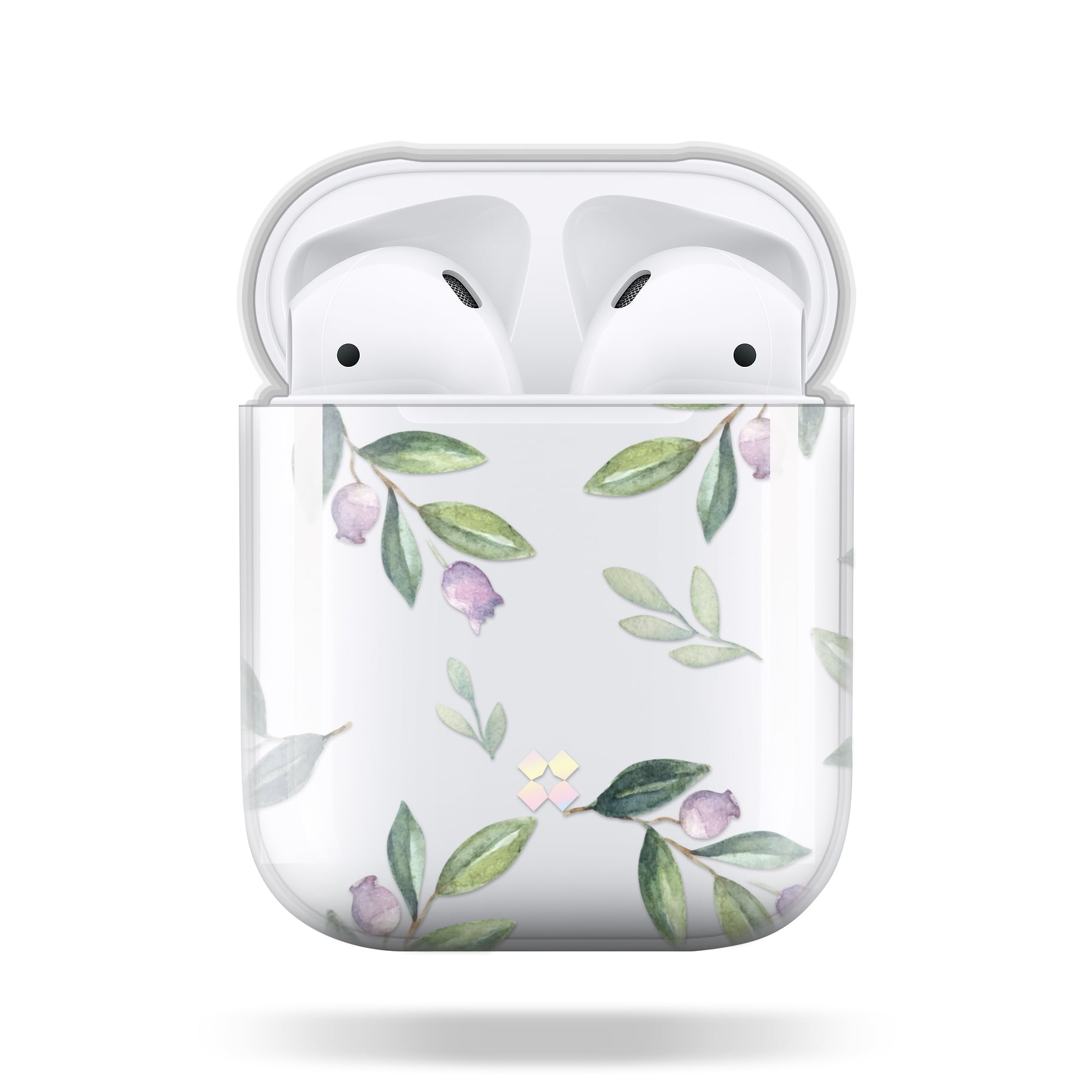 CaseStudi ケーススタディ PRISMART AirPods Case 2018 エアーポッズ ハード ケース 男女兼用 花 ブルーベリー Blueberry 国内正規品