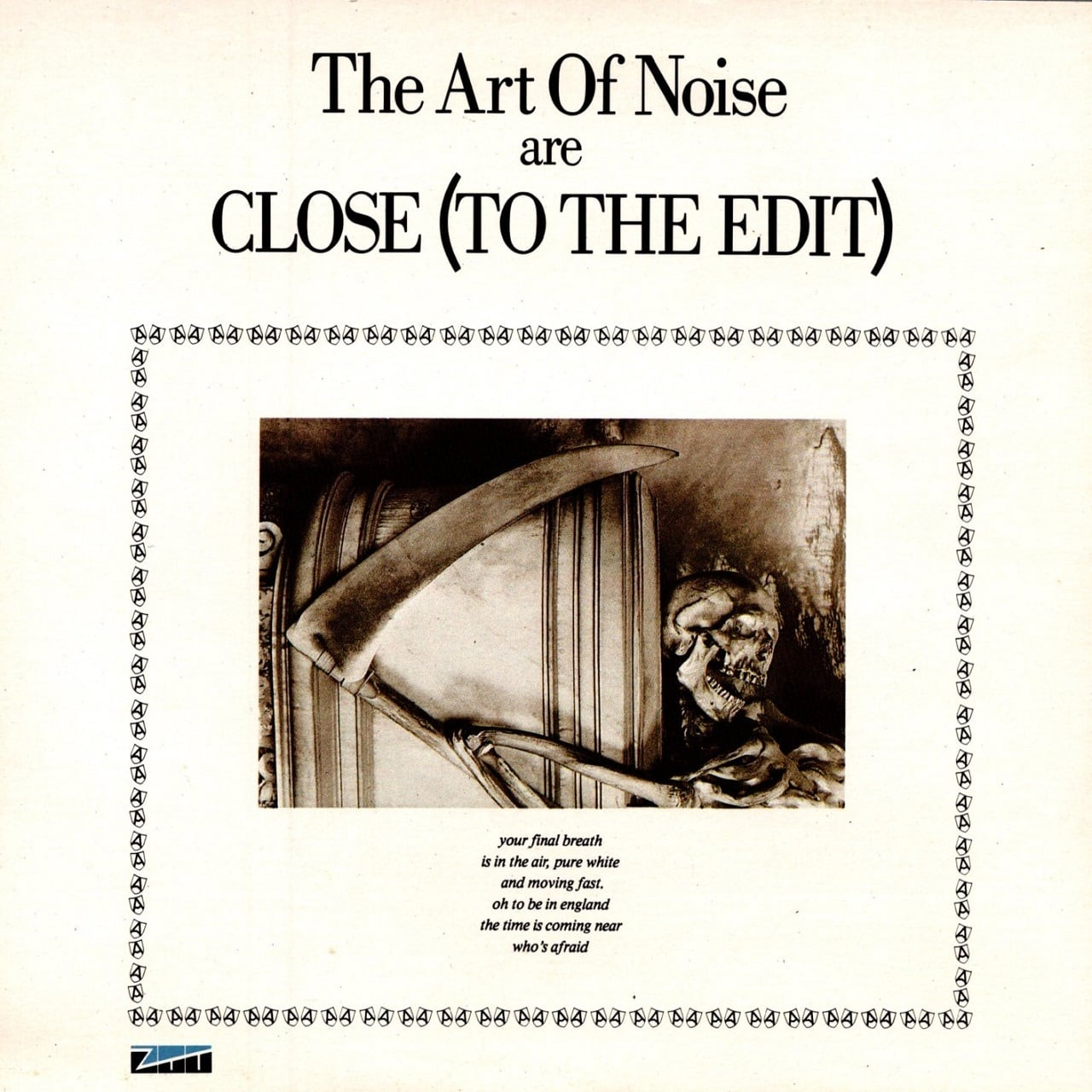 【7inch・英盤】The Art Of Noise  /  Close (To The Edit)