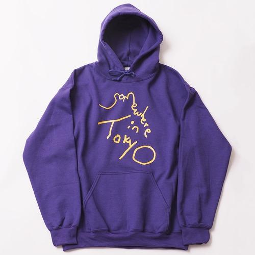 Logo Hoodie / Designed by Tomoo Gokita / Purple
