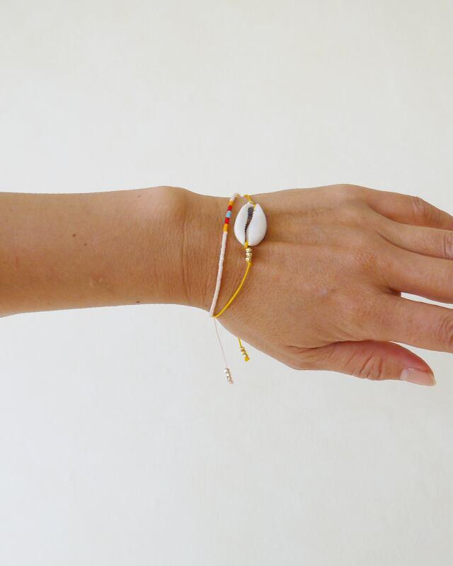 Shell Shamballa bracelet