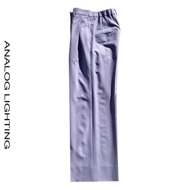 Tuck Wide Pants/FUJI