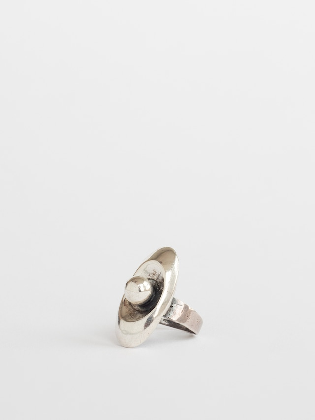 Silver Pearl Ring / Mexico