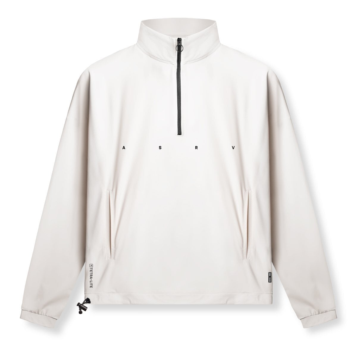 完売御礼【ASRV】TETRA-LITE® クオータージップジャケット - Ivory Cream
