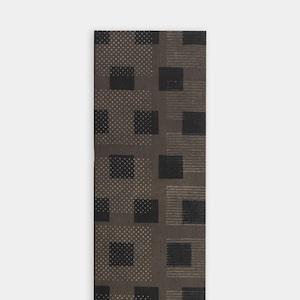 Shiori Mukai Textile パネル 066 向井詩織 ブロックプリントパネル 約120×30cm