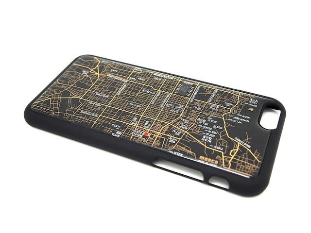 京都回路地図 iPhone6ケース 黒【LEDは光りません】【東京回路線図A5クリアファイルをプレゼント】